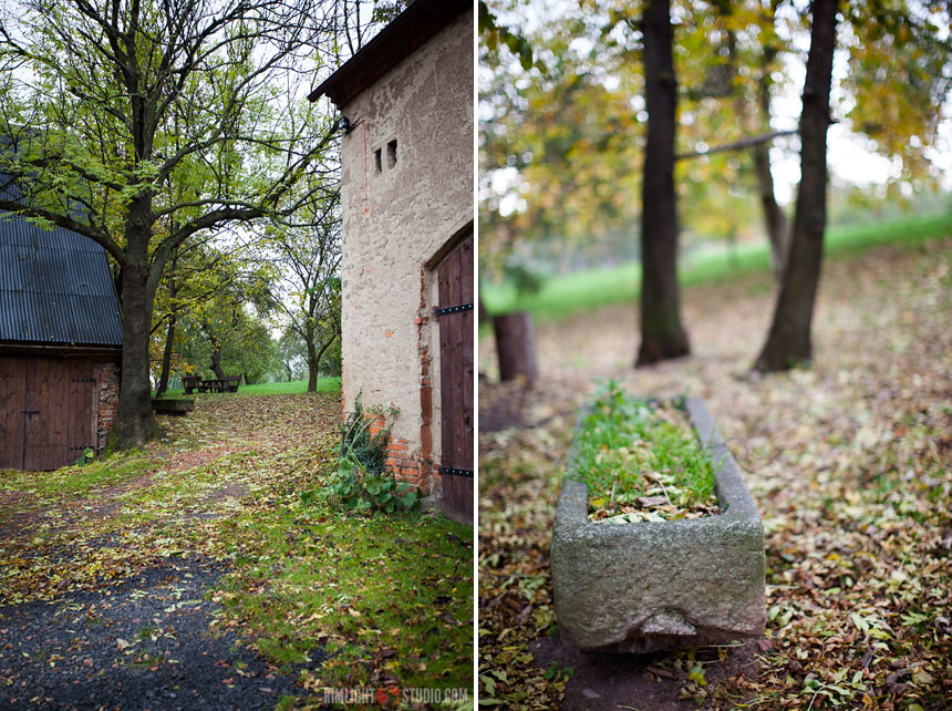 Der Herbst in der Villa Greta