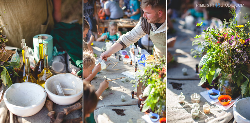 The herbal picnic in Poland