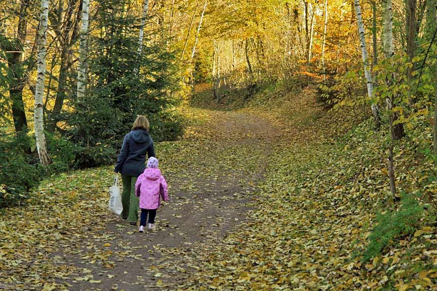 Herbst in Niederschlesien