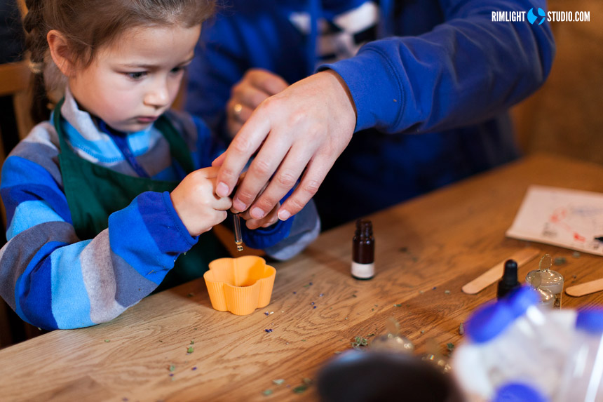 Soap workshop at Ecomuseum in Dobkow