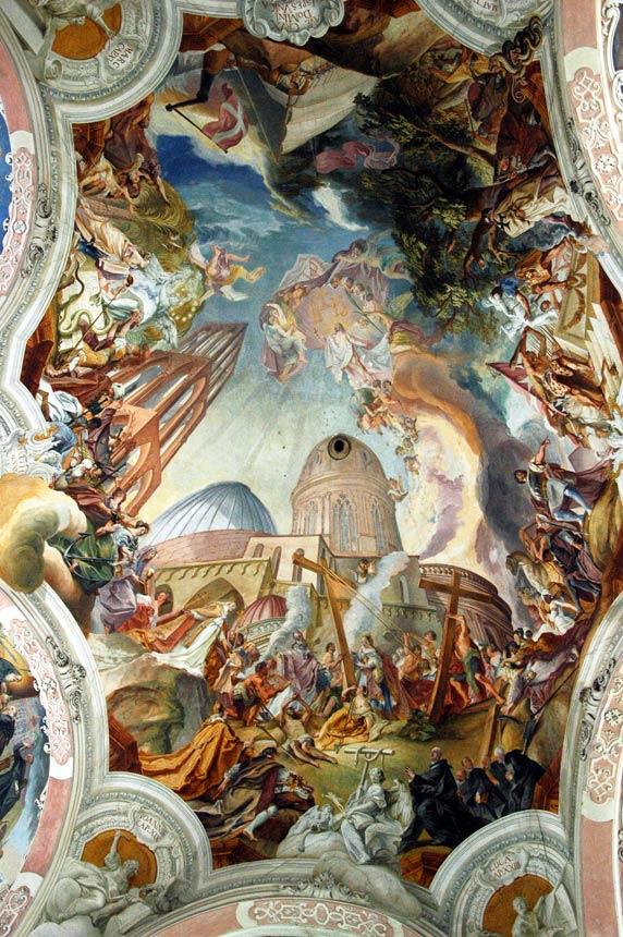 Freski Kuźmy Damiana Asama