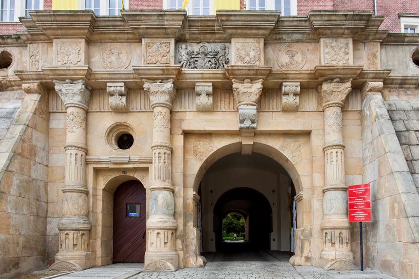 Замок династии Пястов в Легнице