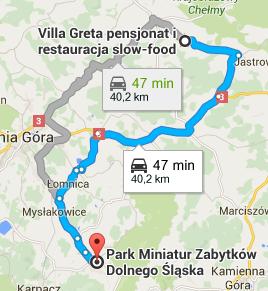 Park Miniatur Zabytków kontakt dojazd