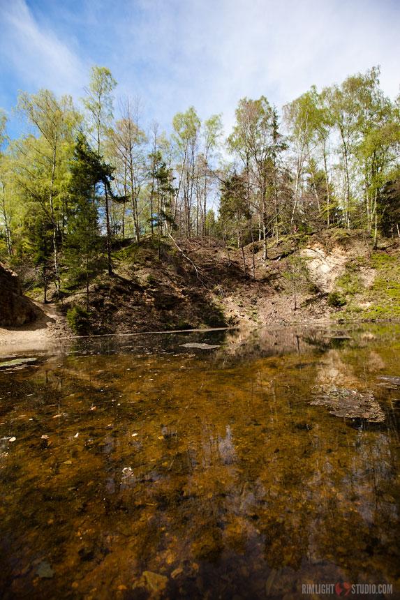 Jeziorka w Rudawych Janowickich