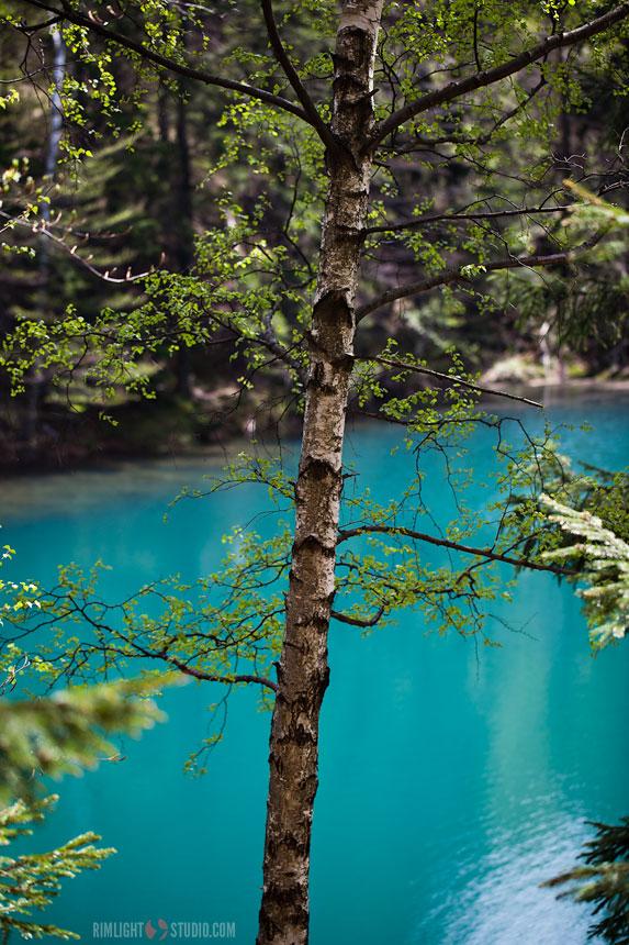 Голубое озеро, Нижняя Силезия