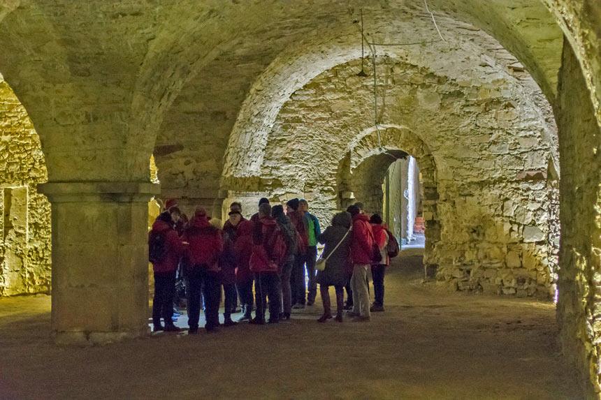 Zwiedzanie klasztoru cystersów