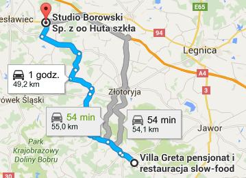 Studio Borowski - kontakt, dojazd