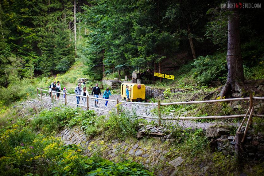 Dojście do kopalni Podgórze