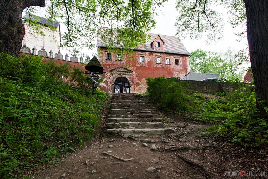 Dojazd Zamek Grodno