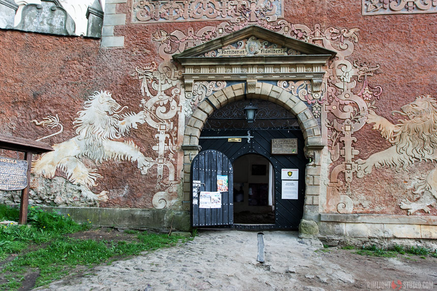 Замок Гродно, по-немецки Kynsburg