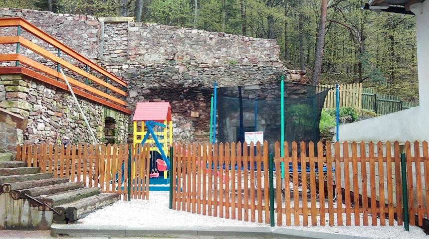 Młyn Wielisław - plac zabaw