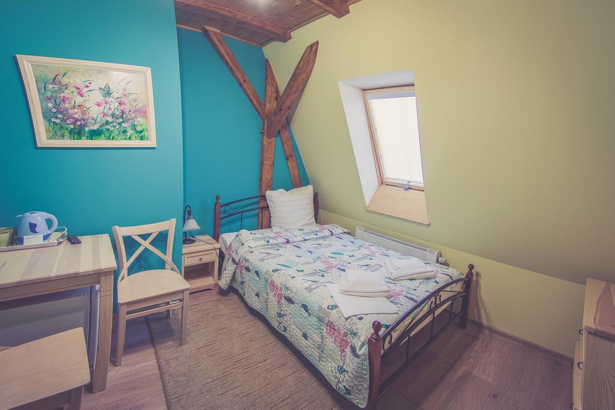 Młyn Wielisław - pokój lazurowy