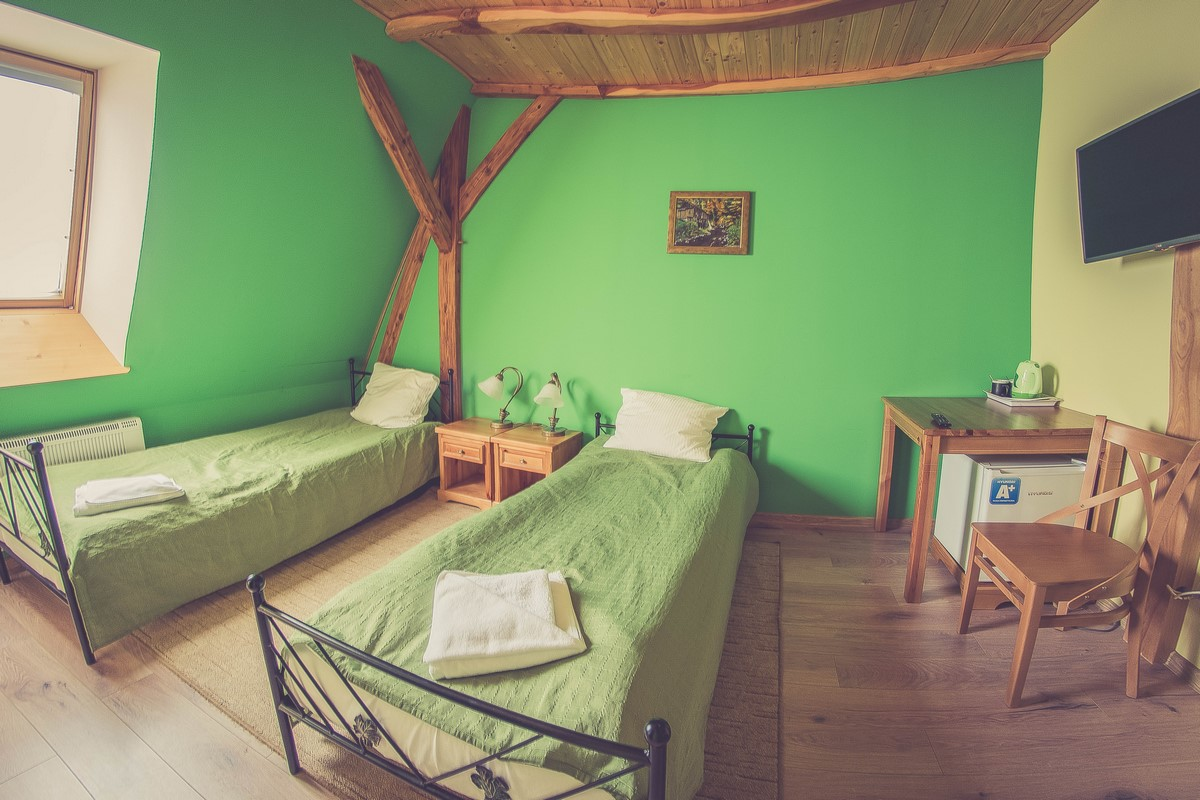 Młyn Wielisław - pokój zielony
