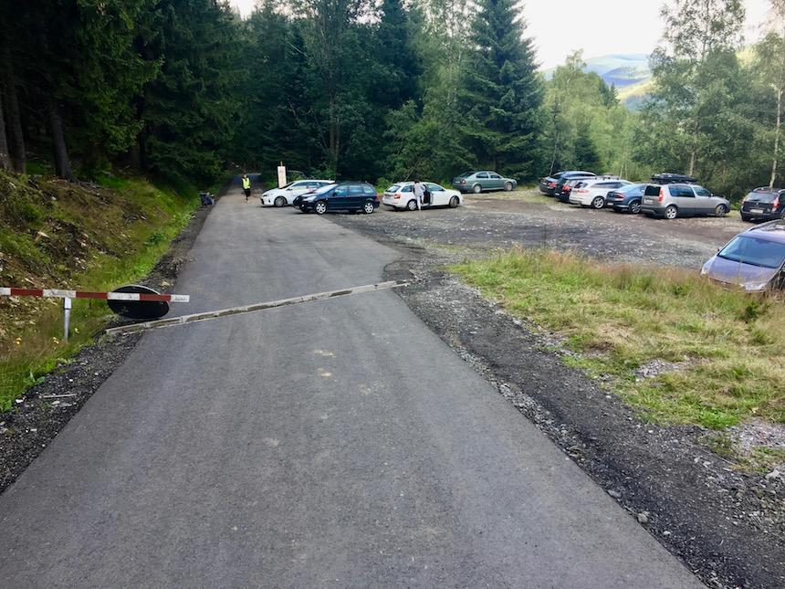 Parking Kopalnia Kowary Podgórze