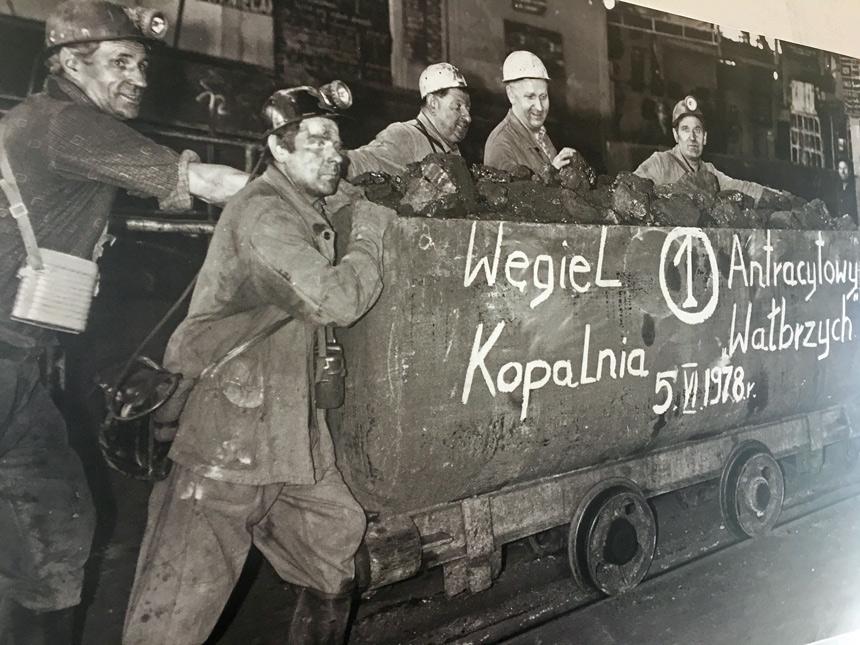 Stare górnicze fotografie