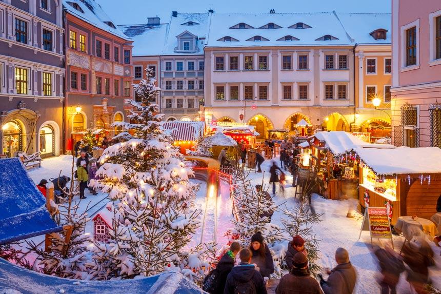 Śląski Jarmark Bożonarodzeniowy w Görlitz