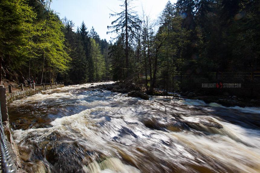 Szklarka Stream in Szklarska Poręba