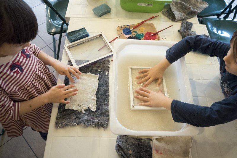 Paper making workshops