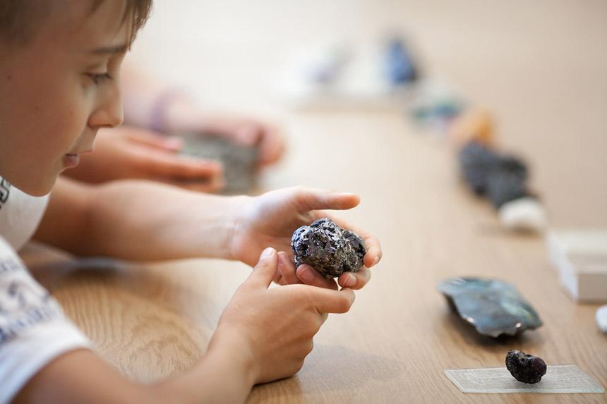 Warsztaty rozpoznawania minerałów i skał