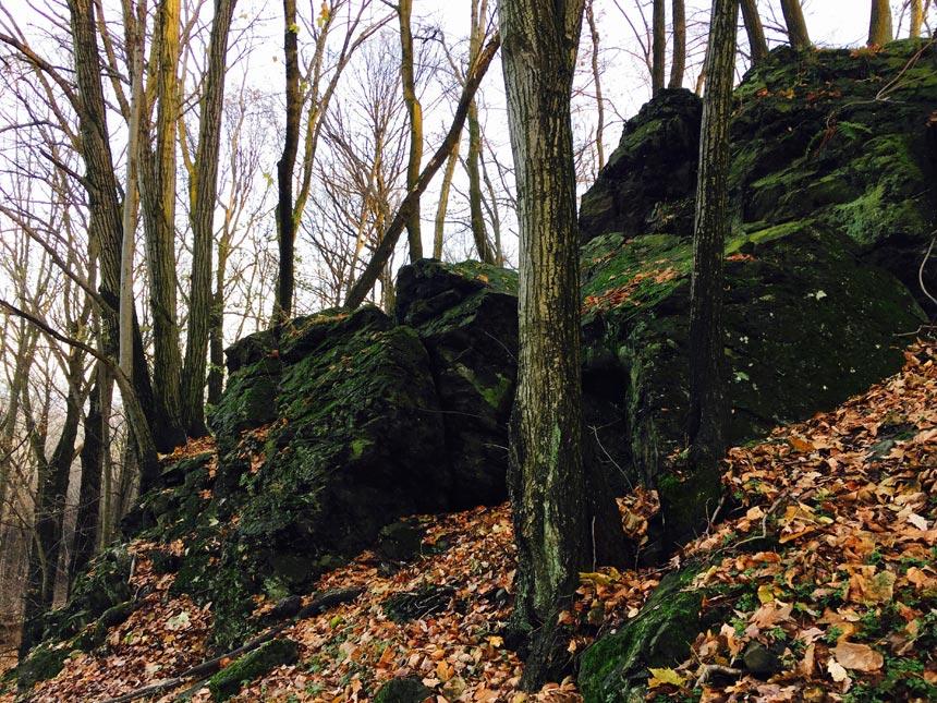 Скалы Качавское пригорье