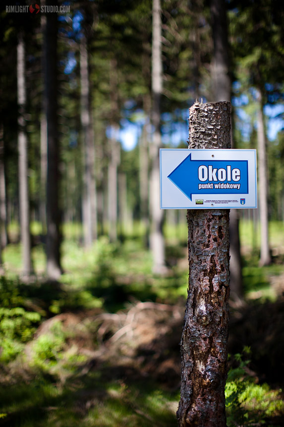 Okole - trail leading to top