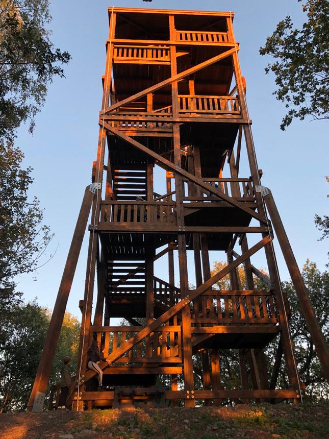 Wieża Widokowa w Górach Kaczawskich