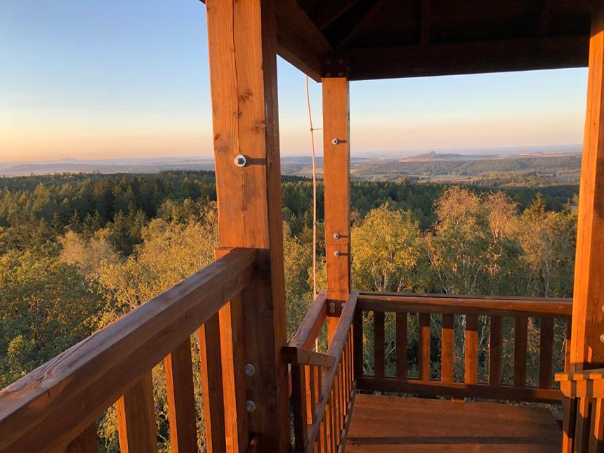 Wieża widokowa - Pogórze Kaczawskie