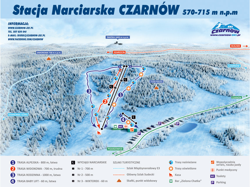 Stacja narciarska Czarnów-Ski