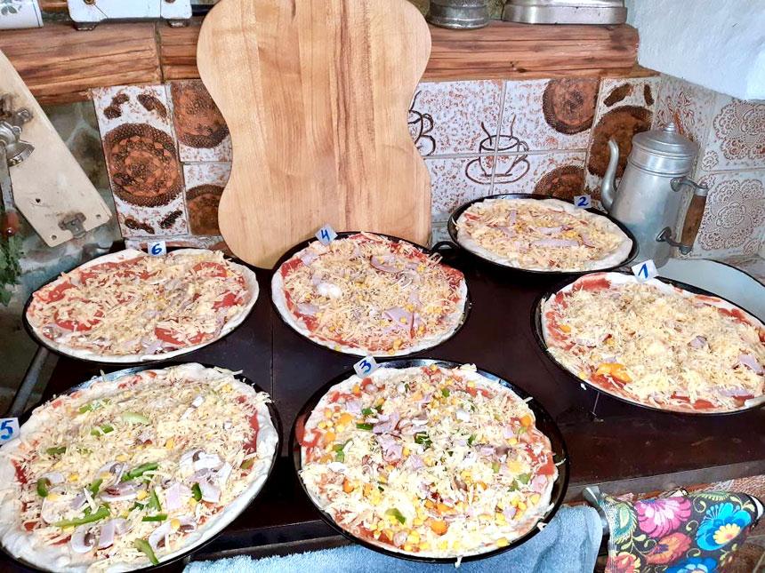 Warsztaty pieczenia pizzy, wakacje w kuchni