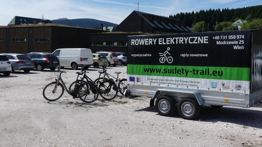 Прокат велосипедов в Нижней Силезии