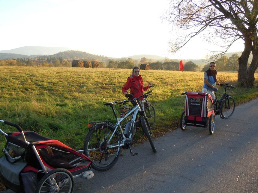 Wypożyczalnia rowerów w Karkonoszach
