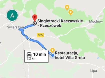 Single track Rzeszówek dojazd