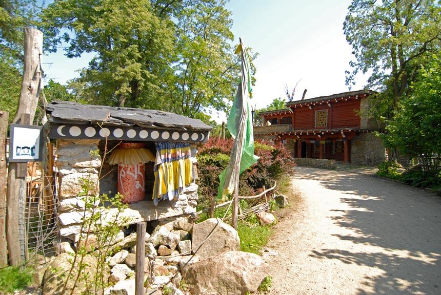 Tibetan village in Europe