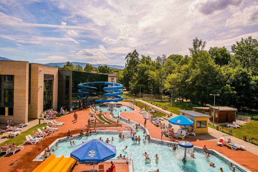 Cieplice Baths pool complex