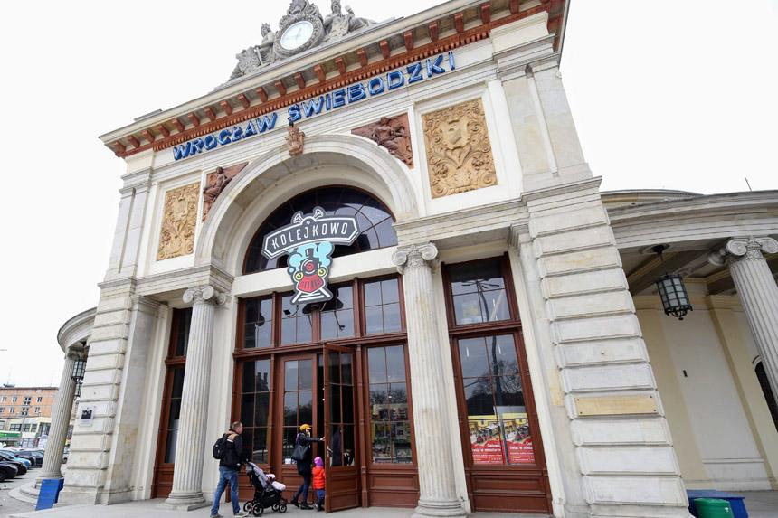 Kolejkowo Свебодзкий вокзал