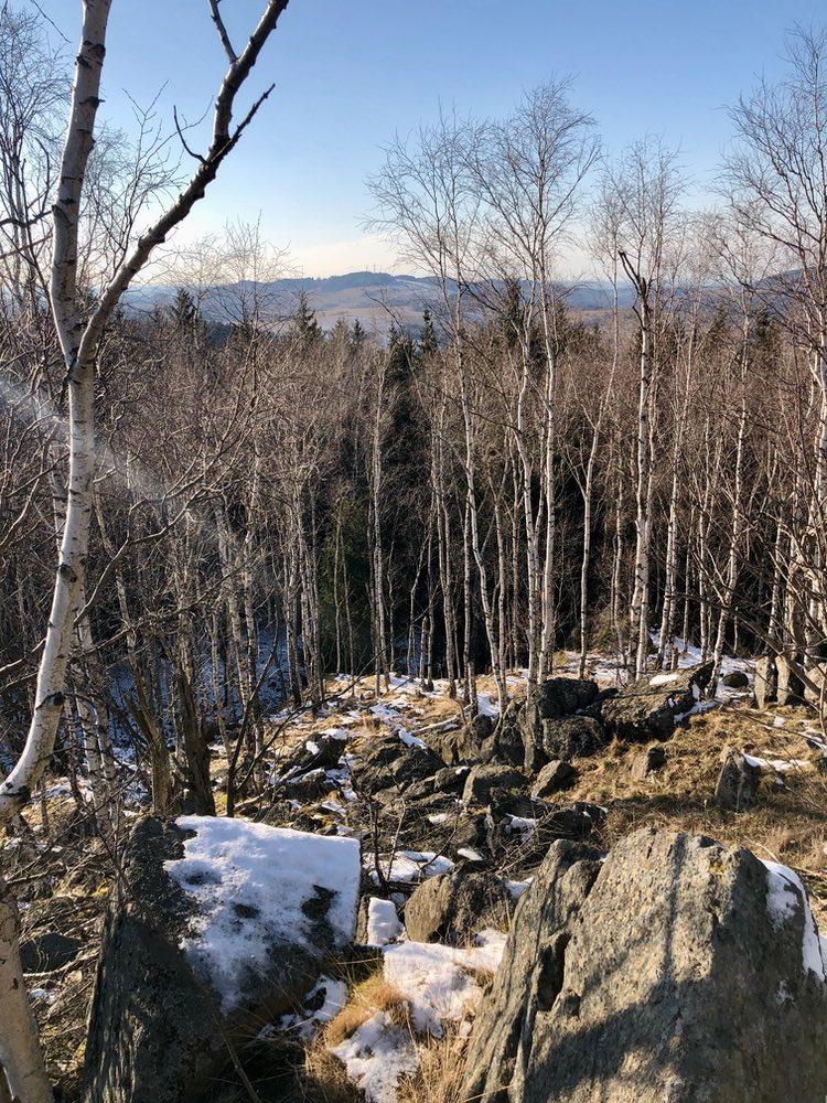Góra Okopowa 711 m n.p.m.