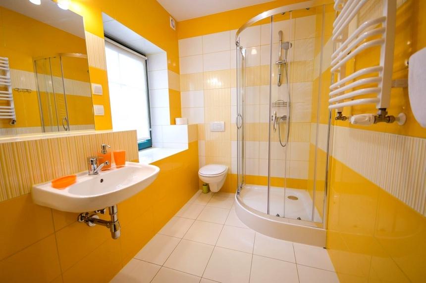 Pokoje z łazienkami